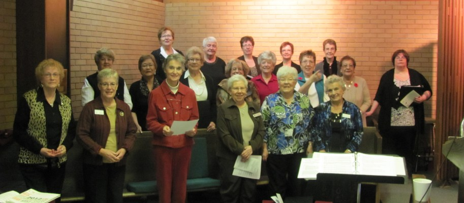 UCW 50th Anniversary Choir