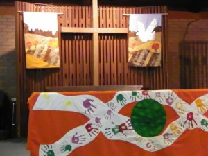 Creation banners dedicated in memory of Linda Will - October 13, 2013