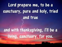 Lord prepare me