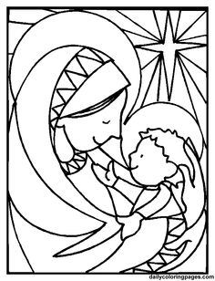 c901e3bbbc6f49900ecfbdaf6f561ef3 - Advent Coloring Pages