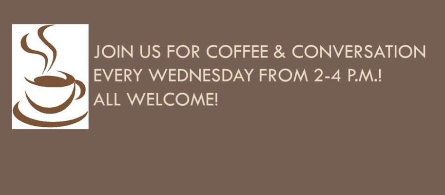 Join us for Coffee & Conversation