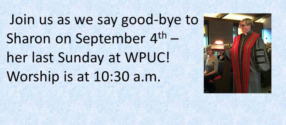 Join us as we say good-bye to