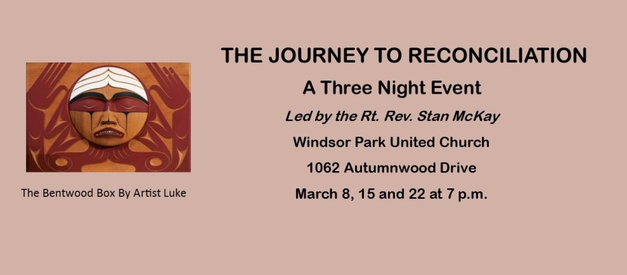 The Journey to Reconciliation Poster