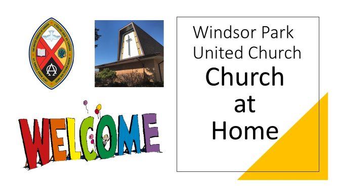 May 2021 Church at Home