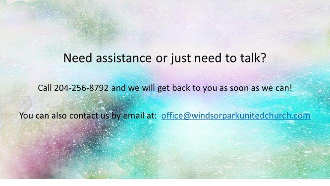 Need assistance slide